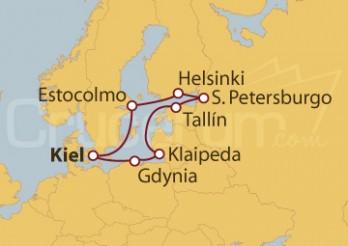 Crucero Capitales del Norte