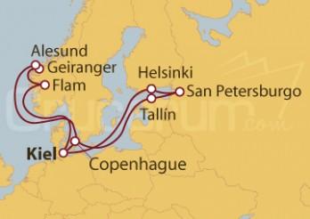 Crucero Capitales Bálticas y Fiordos Noruegos