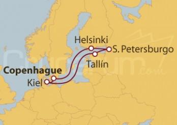Crucero Dinamarca, Finlandia, Rusia, Estonia, Alemania