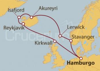 Crucero Tierras extremas: Las Shetland, Islandia y Las Orcadas