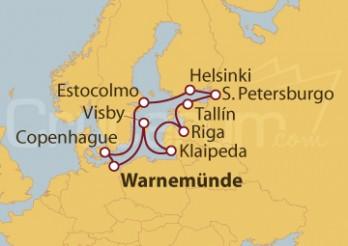 Crucero La historia de Mar Báltico