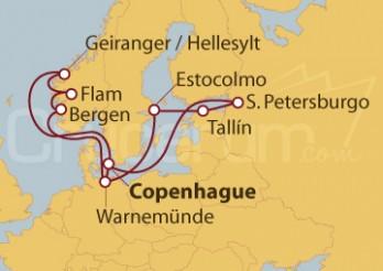 Crucero Estonia moderna: Medieval y contemporánea
