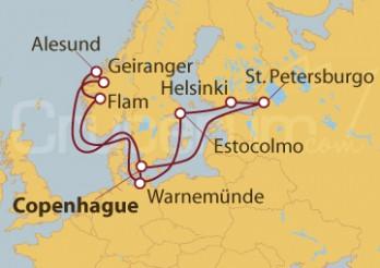 Crucero Surcando los mares de los vikingos