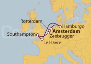 Crucero Mar del Norte desde Amsterdam