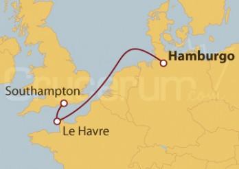 Crucero Minicrucero por el Mar del Norte