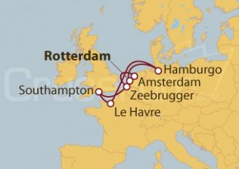 Crucero Holanda, Alemania, Francia, Reino Unido, Bélgica