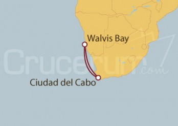 Crucero Sudáfrica y Namibia