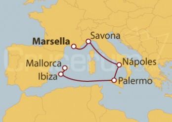 Crucero Francia, Italia e Islas Baleares