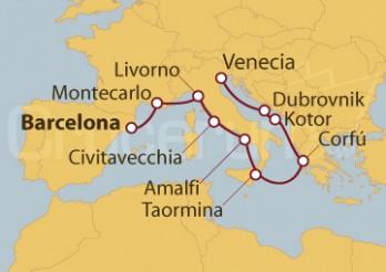 Crucero Mediterráneo Medieval