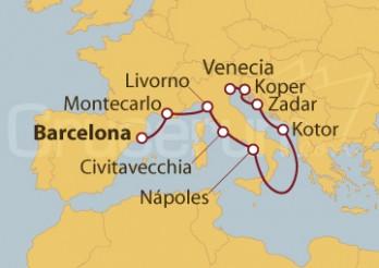Crucero De Costas a Canales