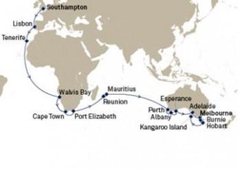 Crucero Descubriendo Australia desde el Atlántico
