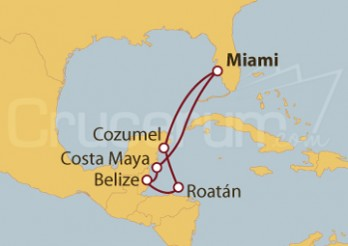Crucero Refugios en el Trópico