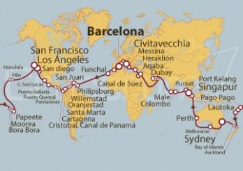 Crucero Vuelta al Mundo (2019)