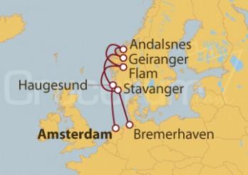 Crucero Holanda, Noruega, Alemania