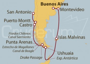 Crucero Experiencia Antártica desde Buenos Aires