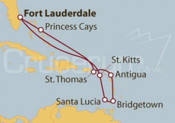 Crucero Surcando el Caribe
