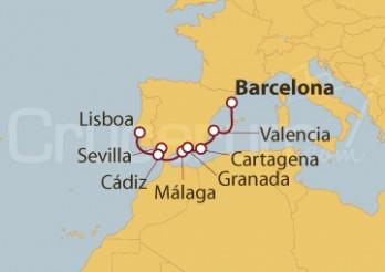 Crucero España y Portugal