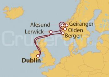 Crucero Noruega y Reino Unido