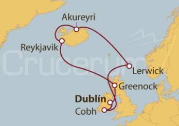 Crucero Islas Británicas e Islandia