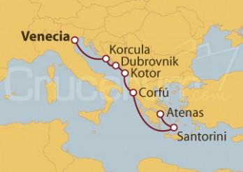 Crucero De Venecia (Italia) a Atenas (Grecia)