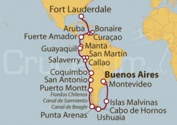 Crucero Viaje de descubrimiento de Sudamérica, Los Incas y el Canal de Panamá