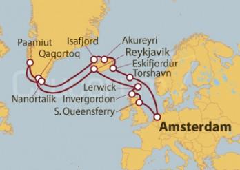 Crucero Viaje por los Fiordos Islandeses y Groenlandia