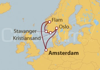 Crucero Noruega