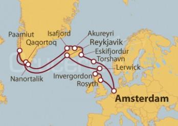 Crucero Viaje de Exploración por los Fiordos Islandeses y Groenlandia