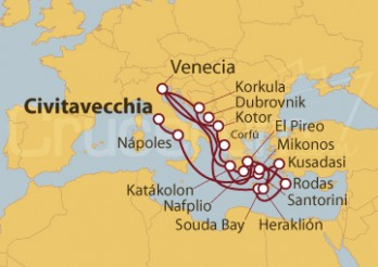 Crucero Odisea Griega e Imperios Mediterráneos