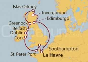 Crucero Islas Británicas
