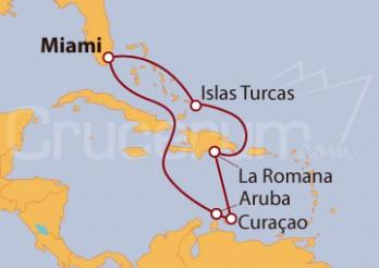 Crucero Bahamas y Antillas Holandesas