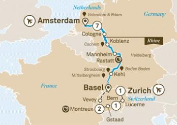 Crucero Mercados de Navidad del Rin con Suiza
