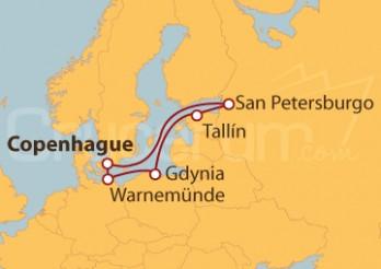 Crucero Capitales Bálticas con VUELOS INCLUIDOS