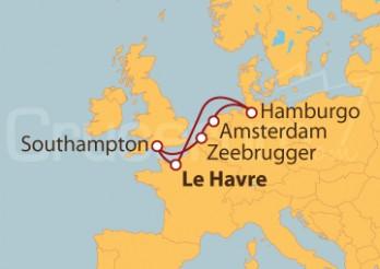 Crucero Mar del Norte desde Le Havre