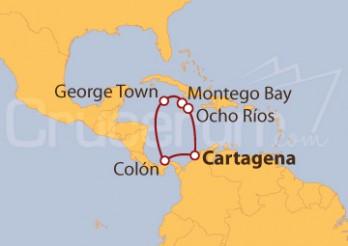 Crucero Caribe Legendario (Desde Cartagena)