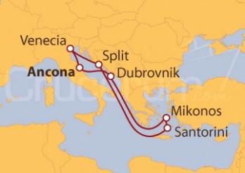 Crucero Italia, Croacia y Grecia