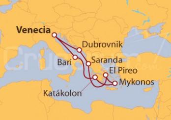 Crucero Los Mármoles del Partenón y las murallas de Dubrovnik