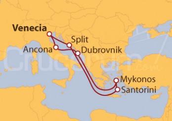 Crucero Croacia y Grecia: joyas históricas