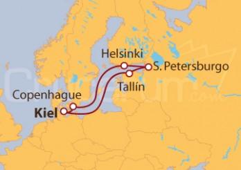 Crucero Blanco y Azul: Finlandia y Estonia