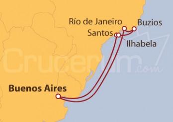 Crucero Argentina y Brasil