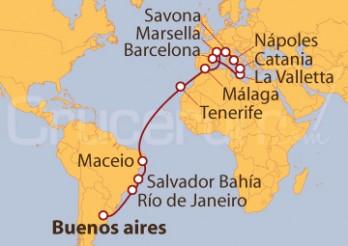 Crucero De Buenos Aires (Argentina) a Barcelona