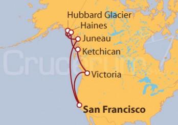 Crucero Alaska desde San Francisco
