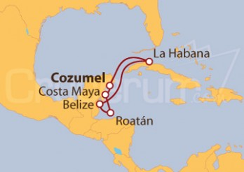 Crucero Caribe Occidental: Cuba desde Cozumel