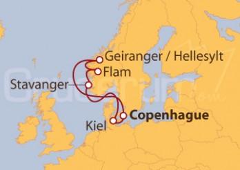 Crucero Hacia los acantilados de Stavanger