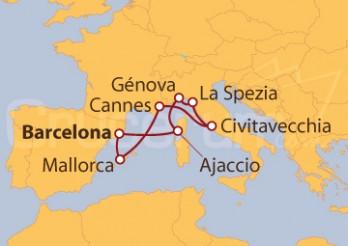Crucero Oferta Estrella: La Riviera francesa e Italiana