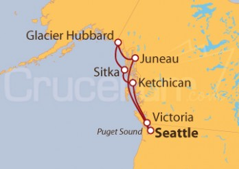 Crucero Explorando Alaska