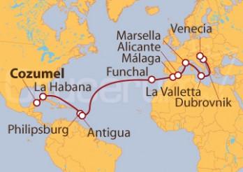 Crucero De Cozumel (México) a Venecia
