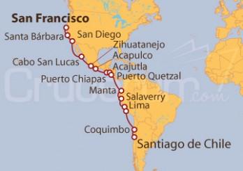 Crucero Ensueño por la Costa del Pacífico