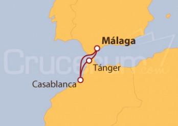 Crucero Marruecos desde Málaga