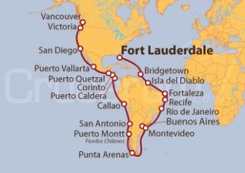 Crucero Viaje por América